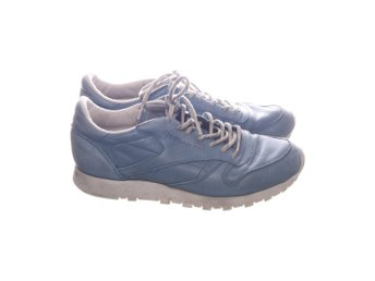 Reebok, Sneakers, Strl: 42, Classic leather eco, Blå, Skinn