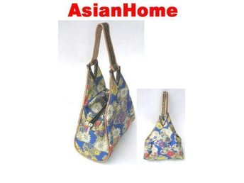 *AsianHome* NY! Japanska Embroided Satin Handväskor (b7)