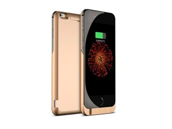 Power case för iPhone 6+  Guld