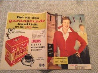 Femina nr 41 1953 Mode,Luxus Kaffe - Filipstad - Femina nr 41 1953 Mode,Luxus Kaffe - Filipstad