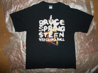 Bruce Springsteen LARGE turné t-shirt