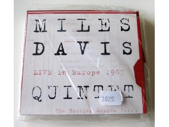 Miles Davis Quintet-Live In Europe 1967(The Bootleg Series Vol.1) 3XCD+1DVD/MINT