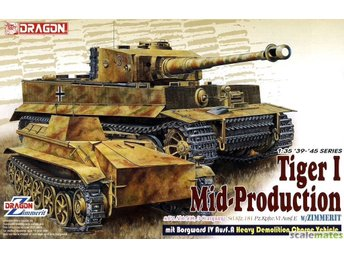 Dragon 1/35 s.Pz.Abt.508, C Company Pz.Kpfw.VI Ausf.E Tiger I Mid Production