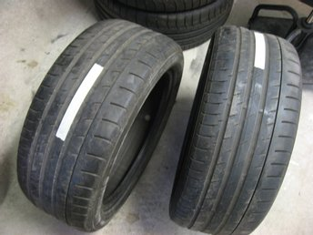 2 st Begagnade Continental Sport Contact 3 SSR 245/45R18 96Y .