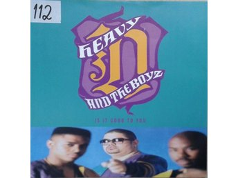 "Heavy D. & The Boyz title*  Is It Good To You* House, Garage House RnB 12"" UK"