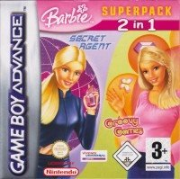 GBA - Barbie Superpack 2 in 1 - Secret Agent + Groovy Games (Komplett) (Beg)