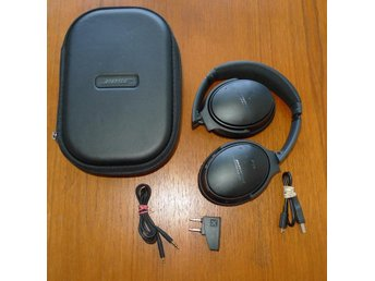 Bose QuietComfort 35 black hörlurar aktiv brusreducering