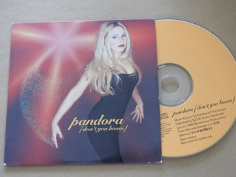 Pandora - Don't you know CD Single 1995