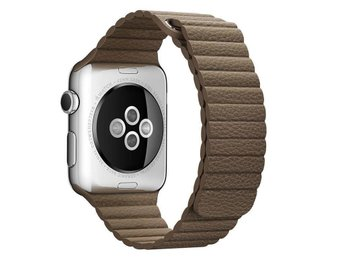 Leather Loop 42/44mm Apple Watch Armband - (BROWN)
