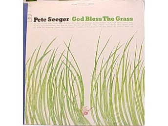 LP Pete Seeger God bless the grass