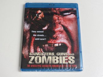 GANGSTERS, GUNS AND ZOMBIES (Blu-ray) Ny inplastad