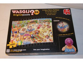 Pussel Wasgij? Original nr24 A Very Merry Holiday!, 1000 bitar