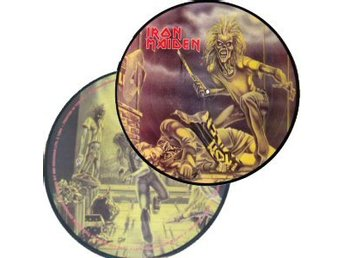 Iron Maiden -First ten years ep volume 1 Picture disc 1990