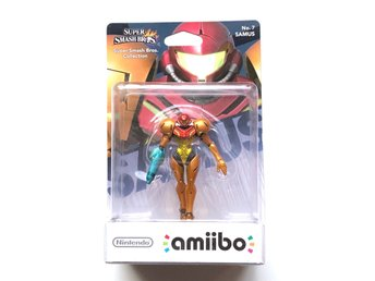 Samus Amiibo från Super Smash Bros Metroid New Nintendo 3DS 2DS Switch Wii U