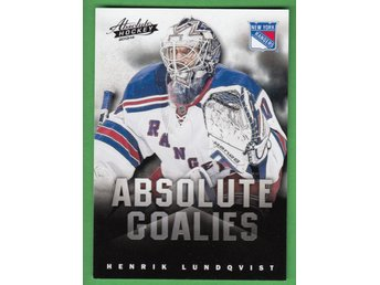 2013-14 Panini Boxing Day Absolute Goalies #5 Henrik Lundqvist New York Rangers