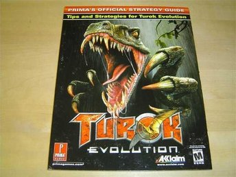 TUROK EVOLUTION SPELGUIDE GUIDE WALKTHROUGH *NYTT*