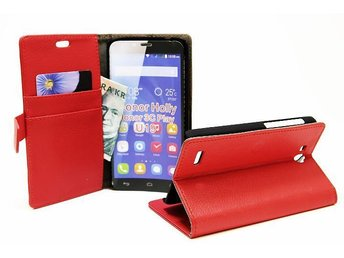 Standcase Wallet Huawei Honor Holly (Röd)