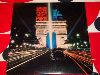 EDDIE BARCLAY PLAYS TODAY'S PARIS LP 1967
