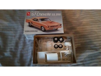 AMT 1/25 Pro Street 67 Chevelle SS 396