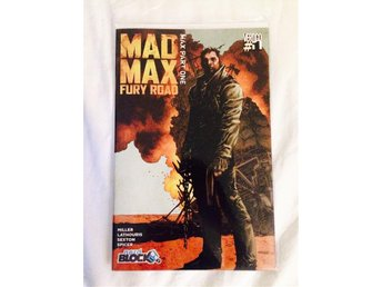 Mad Max #1 - Serietidning - Comic Nerd Block Exclusive - ny/inplastad