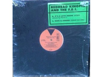 "Redhead Kingpin And The FBI title* It's A Love Thang (Word)* 90's Hip-Hop 12"" US"