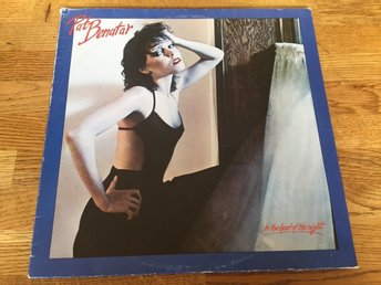 Pat Benatar in the Heat of the night  1979 SKICK VG++