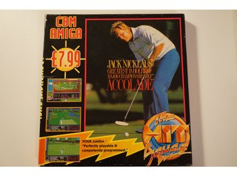 Jack Nicklaus Greatest 18 holes of Major Championship Golf till Amiga
