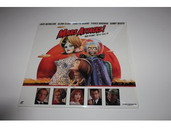 Mars Attacks laser disc film i fint skick