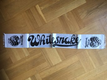Whitesnake hårdrock tour 1981 come and get it Konserthalsduk turnéscarf
