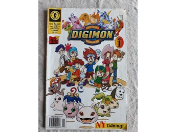 DIGIMON Serie tidning No 1 - 2001