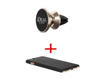 iDeal of Sweden -  Air Vent mount Gold + skål iPhone 6 PLUS