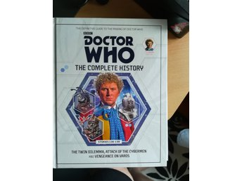 Doctor Who The Complete History Colin Baker, Stories 136-138
