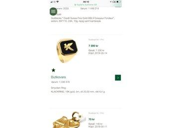 Javascript är inaktiverat. - Jönköping - 18 klarat guld ring med detaljrik och väldigt väldigt snyggStorlek 20??vikt 6.5 gram??köpt ny i butik för ca 3 månader men aldrig hunnit använda mer en ett prov test. Så helt nyskick ??kvitto och liknande följer med såklart mvh - Jönköping
