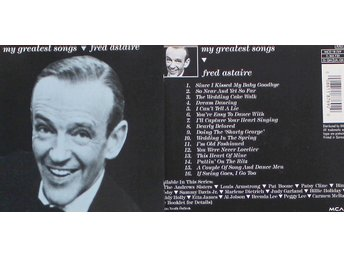 Fred Astaire, My greatest songs (CD)