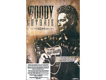 DVD Woody Guthrie  This machine kills fa