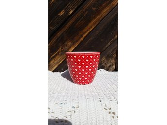 Lattemgg, Haven red, H: 9 cm, Greengate