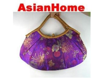 *AsianHome* NY! Japanska Embroided Satin Handväskor (b9)