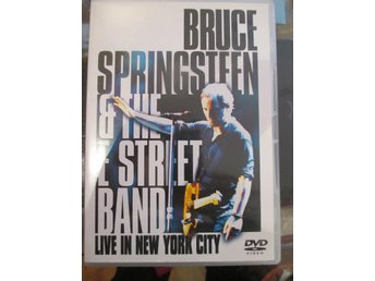 DVD med Bruce Springsteen and the E Street band, Live in New York