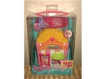 My Little Pony Ponyville Popcorn Movie Theatre +1 Pony *NY*