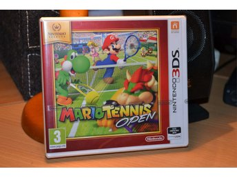 Mario Tennis Open 3DS Nintendo (Selects) Ny