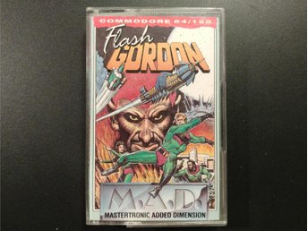 Flash Gordon till Commodore 64 / 128 | C64 | C128 | Mastertronic