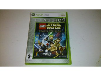 - LEGO Star Wars The Complete Saga XBOX 360 -