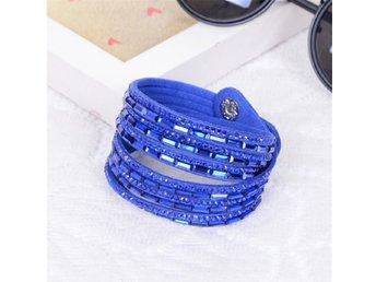 Armband med Kristall och Strass - Fint med Flera Lager - Nasugbu - Armband med Kristall och Strass - Fint med Flera Lager - Nasugbu