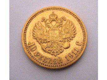 10 rubel 1911 RYSSLAND . RARE..(RR) - Warszawa - 10 rubel 1911 RYSSLAND . RARE..(RR) - Warszawa