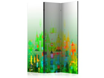 Rumsavdelare - Abstract City Room Dividers 135x172