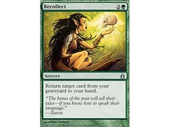Magic The Gathering Recollect