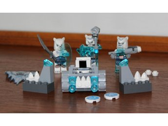 LEGO CHIMA 70230 ICE BEAR PACK MED 3 FIGURER!