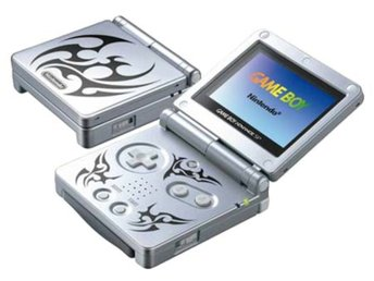 Gameboy Advance SP Basenhet Limited Tribal Edition - Gameboy Advance