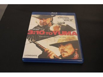 Bluray-film: 3:10 to Yuma (Russell Crowe, Christian Bale)