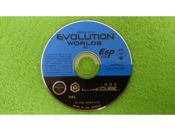 Evolution Worlds ENDAST SKIVAN Gamecube Nintendo Game Cube